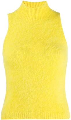 Versace Sleeveless Knitted Top