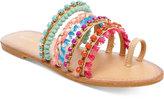 Madden-Girl Krreed Embellished Slide Sandals