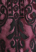 Juicy Couture Dot Floral Lace Tank