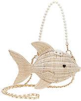 Betsey Johnson Gone Fishing Pearl Shoulder Bag