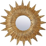 The Well Appointed House Gold Frame Sunburst Wall Mirror-ON BACKORDER UNTIL FEBRUARY 2016