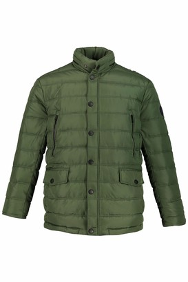 JP 1880 Men's Big & Tall Quilted Jacket Forest Green Large 723366 49-L