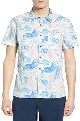 Hurley Fat Cap Print Woven Shirt