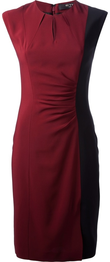 Etro draped dress
