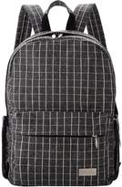 Lekebaby Diaper Backpack with Changing Pad and Stroller Clip for Moms and Girls, Flannel Plaid