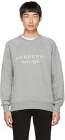 Burberry Grey Logo Taydon Sweatshirt