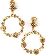 Oscar de la Renta Gypsy Circle Hoop Earrings