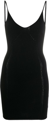 DSQUARED2 Fitted Knit Mini Dress