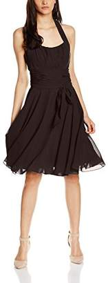 Astrapahl womens co8002ap Knee-Length Plain Cocktail Sleeveless Dress,(Manufacturer Size: 44)