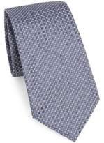 Armani Collezioni Micro-Detailed Silk Tie
