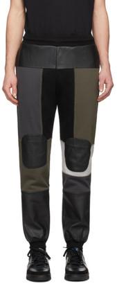 Gr Uniforma GR-Uniforma Khaki Patchwork Lounge Pants
