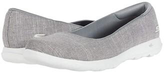 Skechers Performance Go Walk Lite (Gray) Women's Flat Shoes