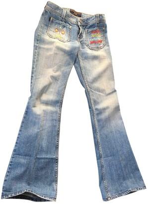 Juicy Couture Blue Cotton Jeans for Women