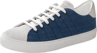Eleventy Two Tone Lace Sneaker
