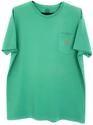 Polo Ralph Lauren Green Cotton T-shirts