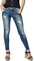 G by Guess Esthera Destroyed Ankle Skinny Jeans