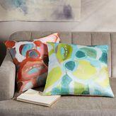 west elm Silk Impasto Floral Pillow Cover