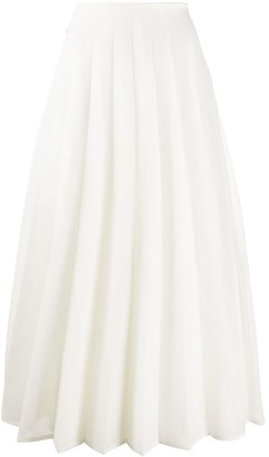 Peter Do High-Waisted Pleated Skirt