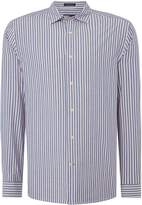 Howick Fairhaven Stripe Long Sleeve Shirt
