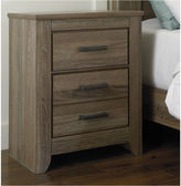 Signature Design by Ashley Zelen Two-Drawer Nightstand