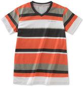Calvin Klein Striped V-Neck T-Shirt, Toddler & Little Boys (2T-7)