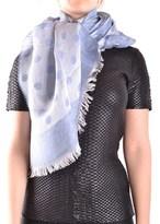 Altea Women's Light Blue Linen Scarf.