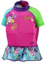 Speedo Youth UV Polywog Swimsuit, Pink - Small