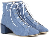 Acne Studios Mable denim ankle boots