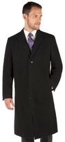 Jeff Banks London Black Classic Roma Overcoat