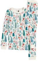 Tea Collection Girl's Maeve Fitted Two-Piece Pajamas