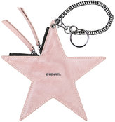 Diesel star keyring - women - Calf Leather - One Size