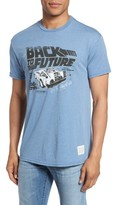 Original Retro Brand Men's Back To The Future Graphic T-Shirt