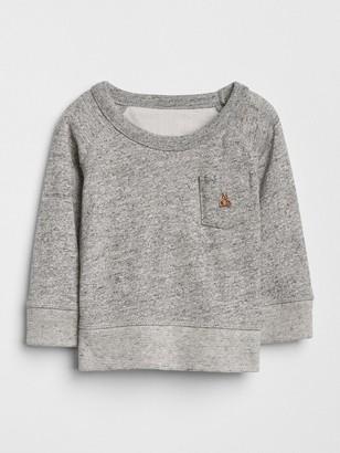 Gap Baby Marled Pocket Sweatshirt