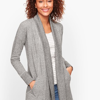 Talbots Terry Open Cardigan