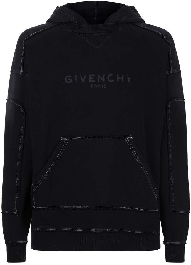 Givenchy Cotton Logo Hoodie