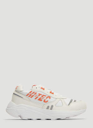Hi-Tec HTS Neon Shadow Sneakers in White