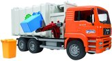 Bruder MAN Side Loading Garbage Truck - Orange
