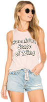 Spiritual Gangster Sunshine Retro Aloha Tank in Pink. - size L (also in M,S,XS)