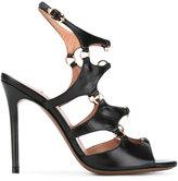L'Autre Chose ring detail stiletto sandals - women - Leather - 36