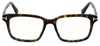 Tom Ford 51MM Plastic Blue Filter Optical Glasses