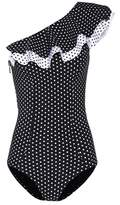 Lisa Marie Fernandez Arden polka-dot swimsuit
