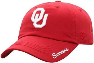 Women's Top of the World Crimson Oklahoma Sooners Staple Adjustable Hat