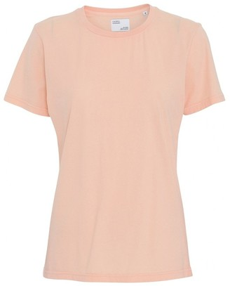 Colorful Standard - COLORFUL STANDARD PARADISE PEACH WOMENS ORGANIC TEE - XSMALL