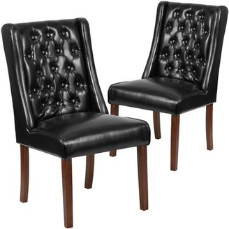 Orland Tufted Parsons Upholstered Dining Chair Charlton Home