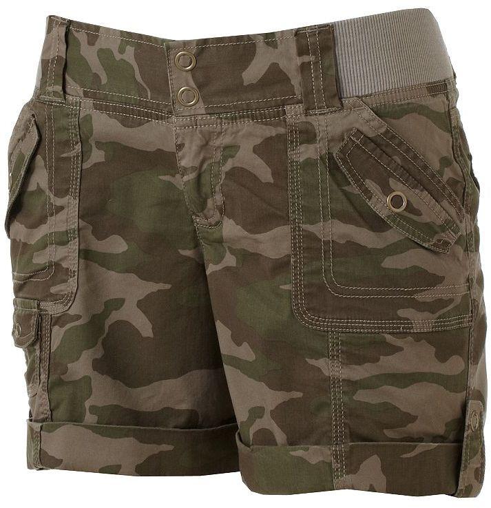Sonoma life + style modern fit camouflage cargo shorts