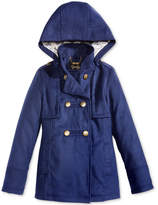 Jessica Simpson Hooded Military Coat, Big Girls (7-16)