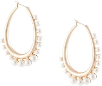 Anton Heunis Talisia hoop earrings
