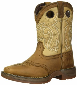 Durango Unisex-Kid's Lil Saddle Western Boot Mid Calf