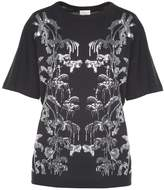 Dries Van Noten Haydu Sequin-embellished Cotton-jersey T-shirt
