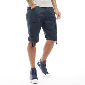 G Star G-STAR Mens Rovic Belt Loose 1/2 Shorts Legion Blue